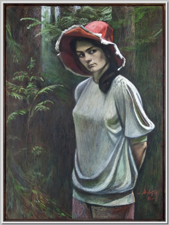Юннатка (Галя Лисицына) 1984