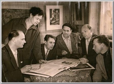 Ивановские художники, 50-е годы