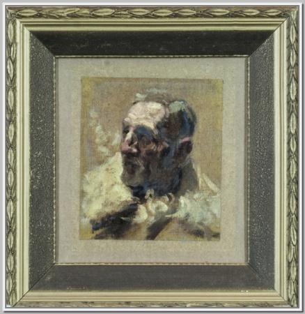 """""""Голова старика"""" 1948г."""
