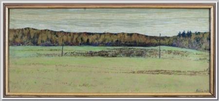 """""""Осенний лес"""" 1972г."""