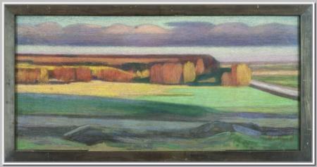 """""""Осень, фиолетовые облака"""" 1981г."""