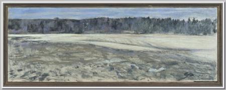 """Снег сошел"" 1975г."
