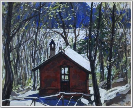 """""""Норвегия. Домик Грига"""" 1976г."""