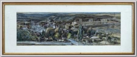 """Кисловодск. Вид на Велинград"" 1983"