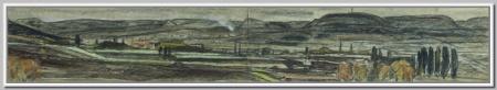 """""""Кисловодск. Вид на горы"""" 1983г."""