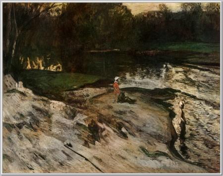 """""""У реки"""",1967г."""