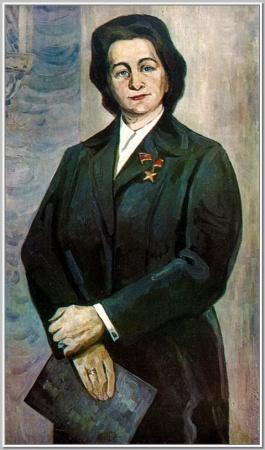 """""""Портрет З.П.Пуховой"""" 1974г."""